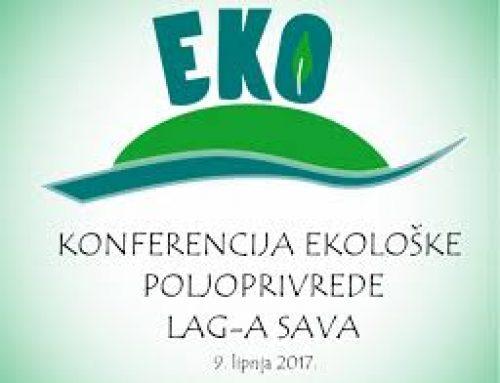 Konferencija EKOloške poljoprivrede LAG-a SAVA