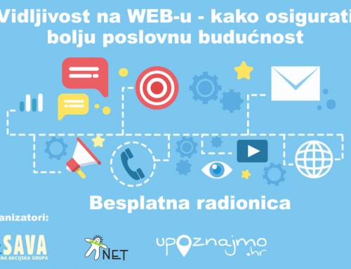 """Poziv na radionicu """"Vidljivost na WEB-u – kako osigurati bolju poslovnu budućnost"""""""